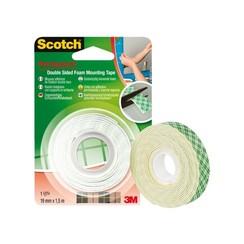 Dubbelzijdige plakband Scotch montage 19mmx1.5m