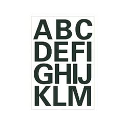 Etiket Herma 4167 25mm letters A-Z zwart