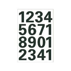 Etiket Herma 4168 25mm getallen 0-9 zwart