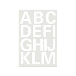 Etiket Herma 4169 25mm letters A-Z wit
