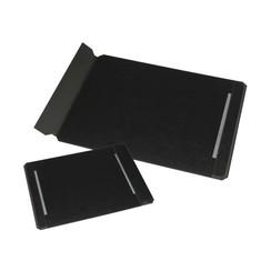 Onderlegger Rillstab 40x60cm leder zwart