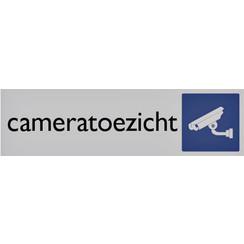 Infobord pictogram cameratoezicht 165x44mm