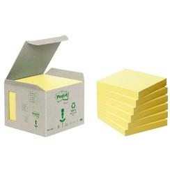 Memoblok 3M Post-it Z-Note R330-1B 76x76mm recycled geel