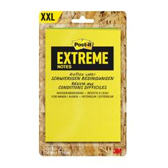 Memoblok Post-it Extreme EXT57M 114x171mm groen geel