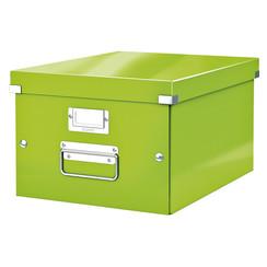 Opbergbox Leitz WOW Click & Store 281x200x370mm groen