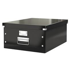 Opbergbox Leitz WOW Click & Store 350x188x450mm zwart