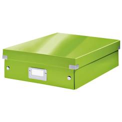 Sorteerbox Leitz WOW Click & Store 281x100x370mm groen