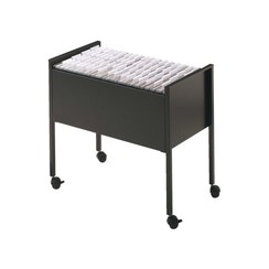 Hangmappentrolley Durable Economy 80 A4 zwart