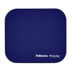 Muismat Fellowes Microban antibacterieel blauw
