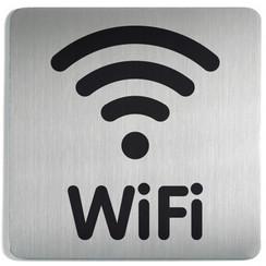 Infobord pictogram Durable 4786 vierkant wifi 150mm