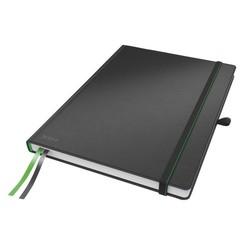 Notitieboek Leitz Complete hardcover A4 gelinieerd zwart