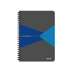 Notitieboek Leitz Office A5 lijn karton blauw