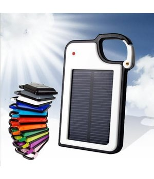 Solar Charger Turquoi