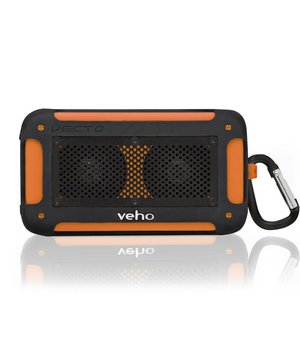 Water resistant wireless speaker  orange