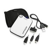 Pebble Verto portable battery back up power, 3700mah  White