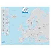 Scratchmap Europe