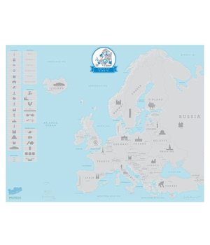 Scratchmap Europe