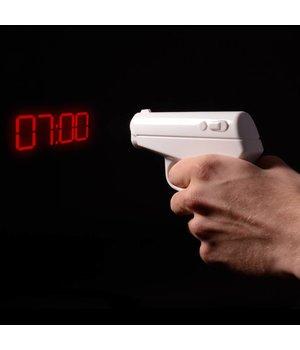 Secret Agent Alarm Clock Gun