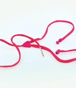 Shoe Lace Earphone Pink