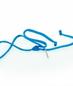 Shoe Lace Earphone Blue