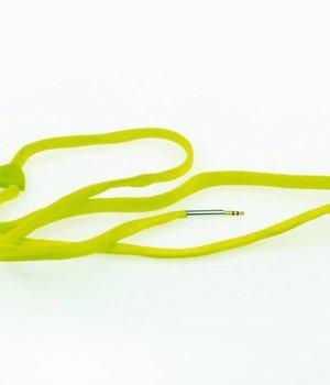Shoe Lace Earphone Green