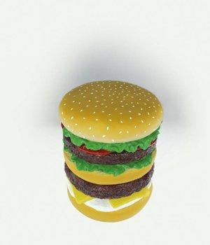 Hamburger Stool