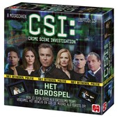 CSI Crime Scene Investigation Het Bordspel