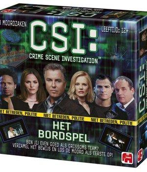 CSI Crime Scene Investigation Het Bordspel