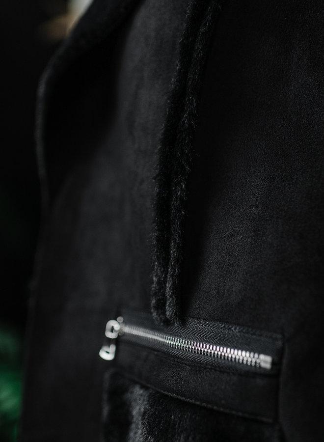 Zwarte vest