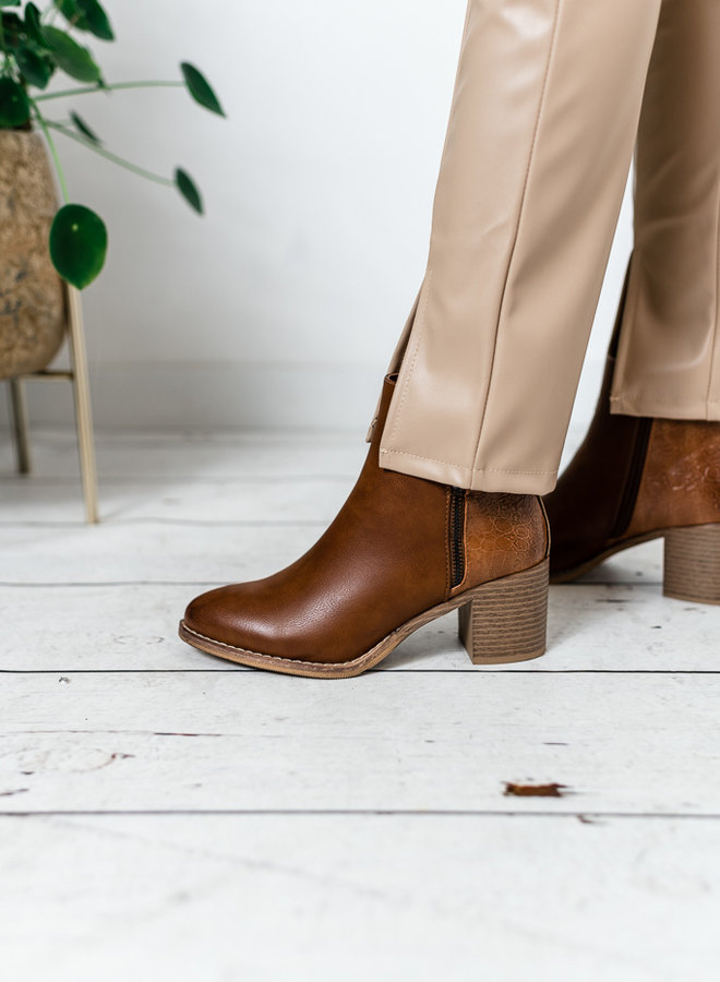 Zip It Up Ankle Boots