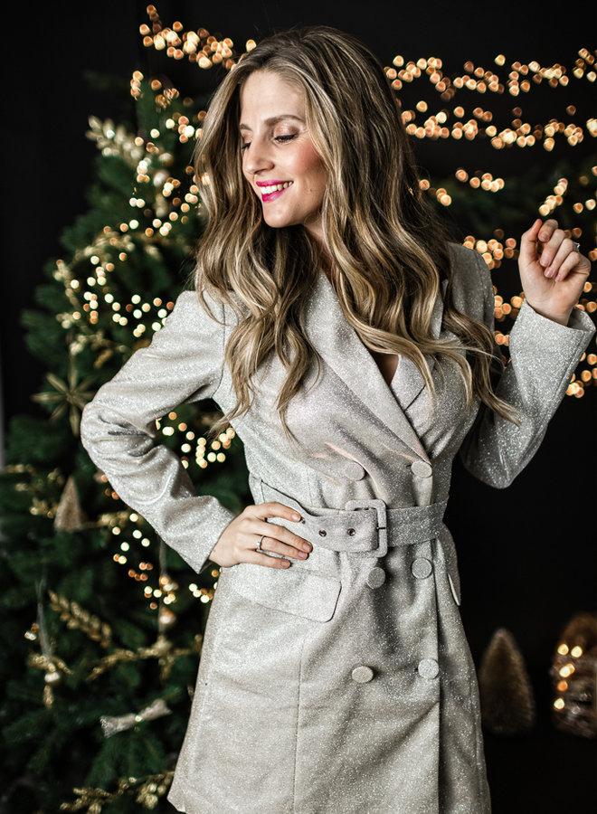 Party blazer dress