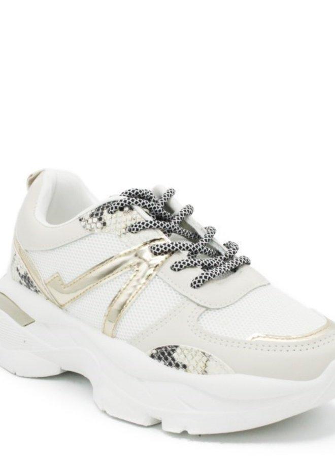 Royal Gold Sneakers
