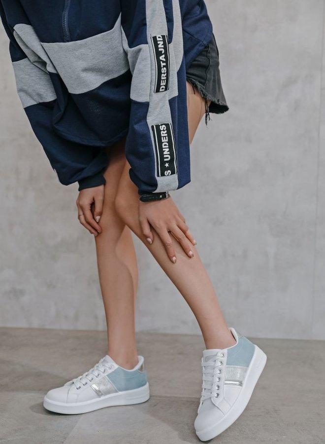 Blue Da Ba Dee Sneakers