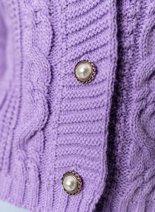 Musthave Cardigan Lila