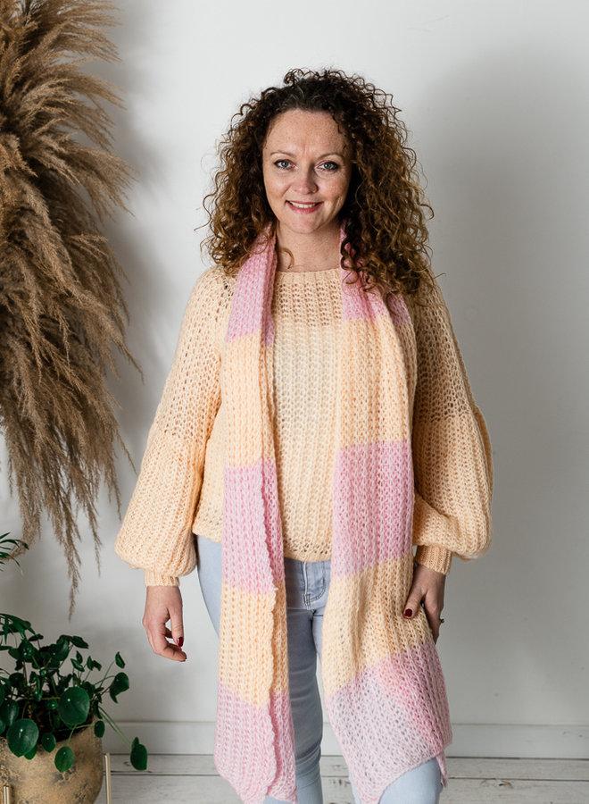 Belle Sweater Perzik