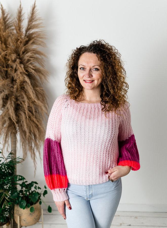 Elsa Sweater Roze