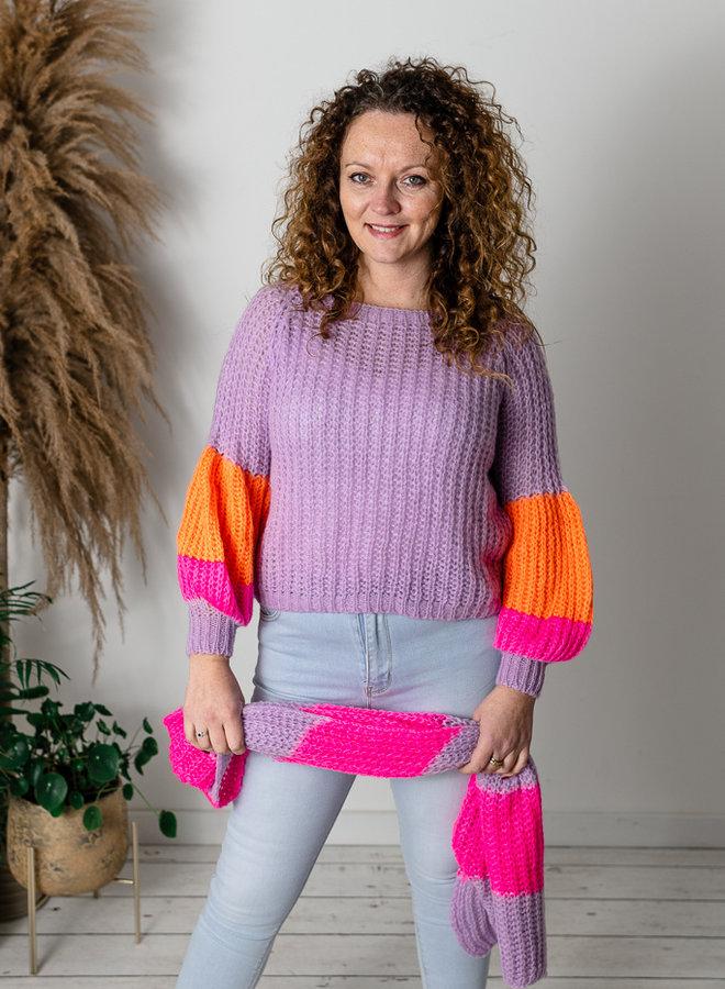 Elsa Sweater Lila