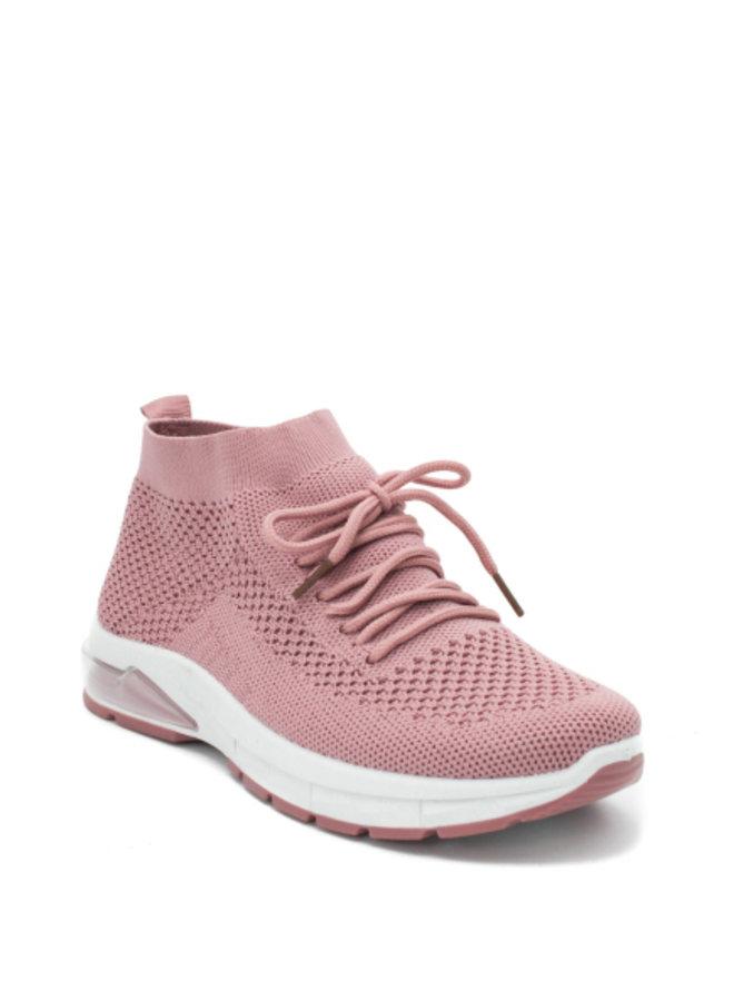 Old Pink Sock Sneakers
