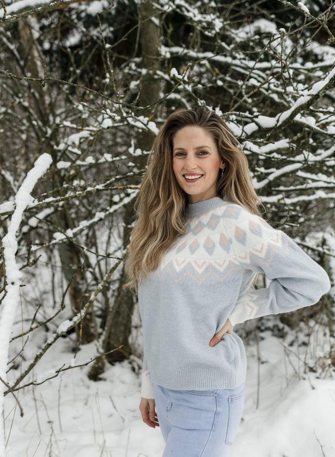 Luz Sweater Blue