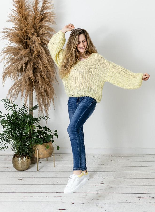 Belle Sweater geel