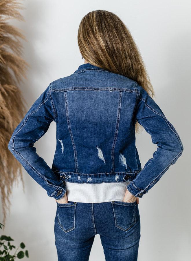 Jeansjasje Medium Blue