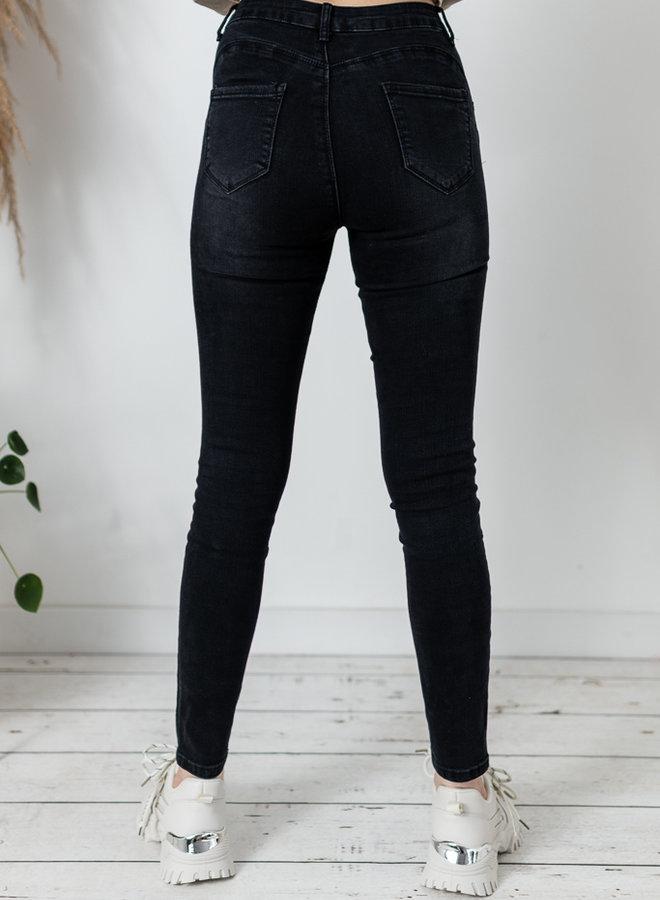 Luna Jeans Black