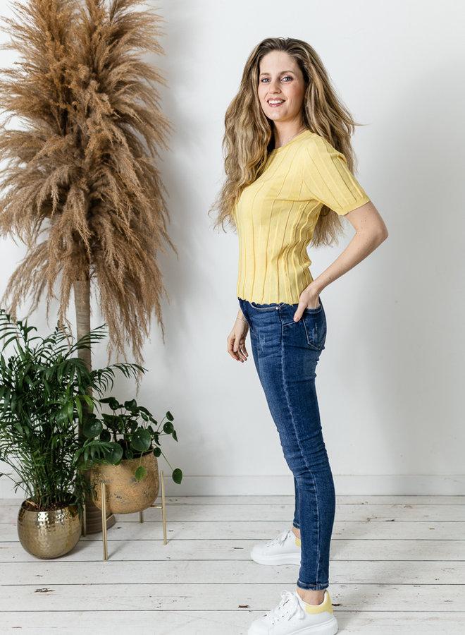 Aria Shirt geel