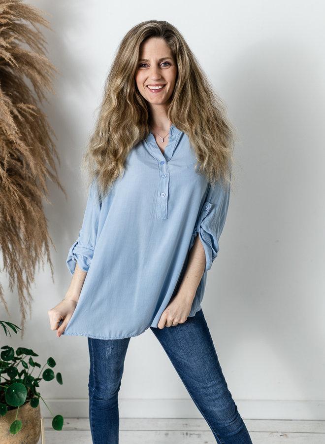 Lucy Blouse lichtblauw