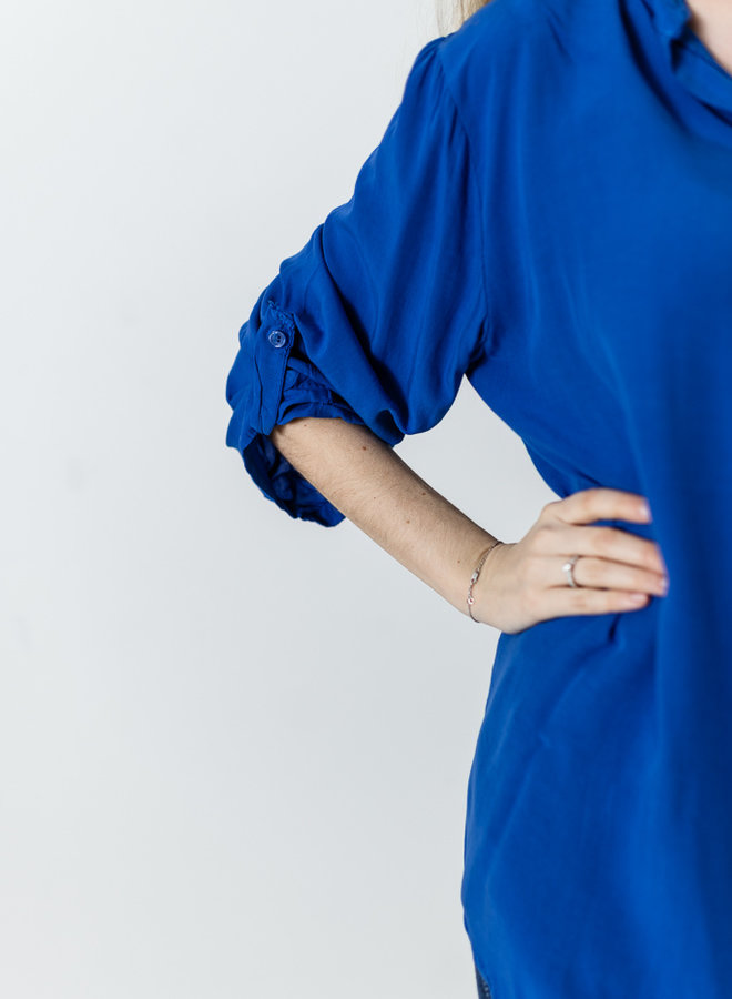 Lucy Blouse koningsblauw