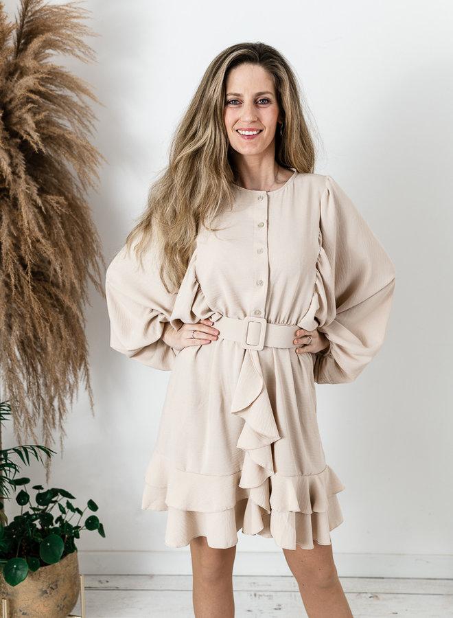 Debo's Favorite Dress Beige