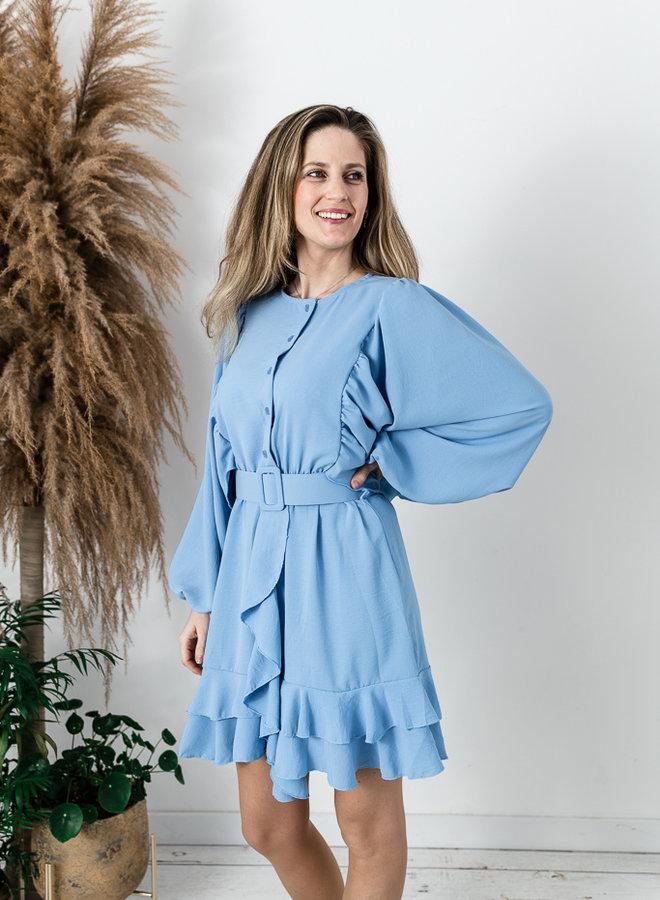 Debo's Favorite Dress Blue