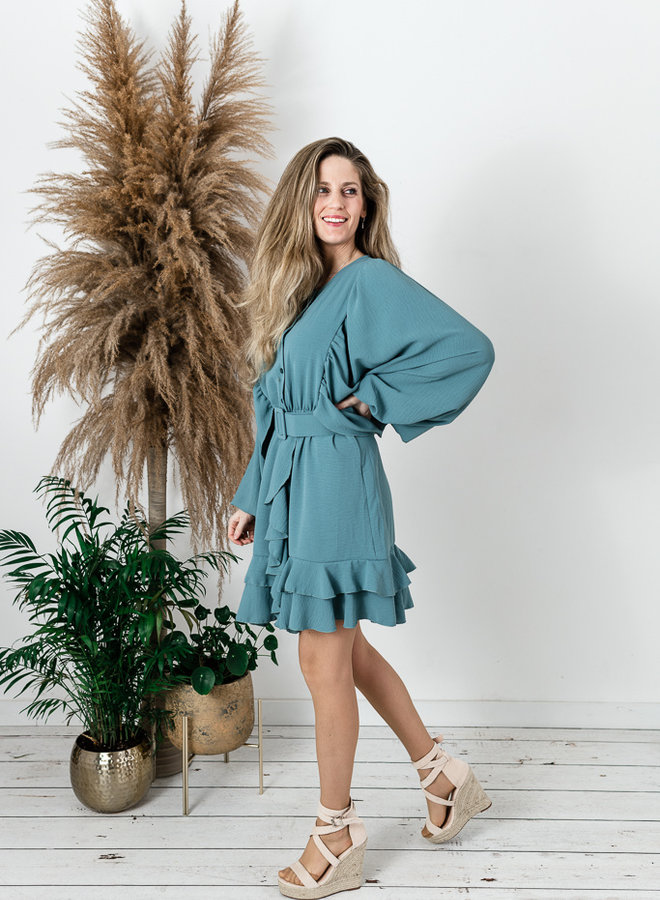 Debo's Favorite Dress Green