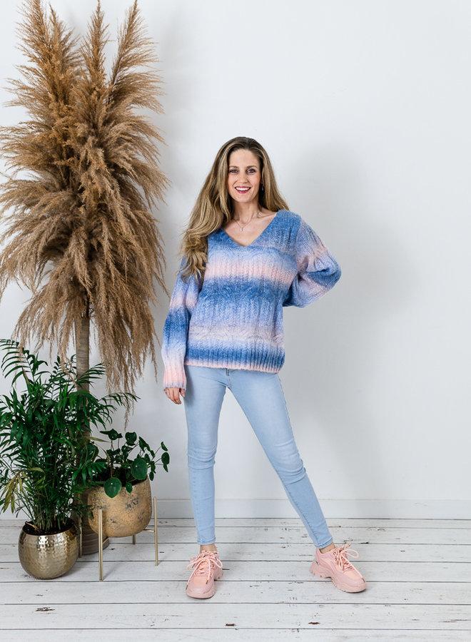 Sunset Rainbow Sweater