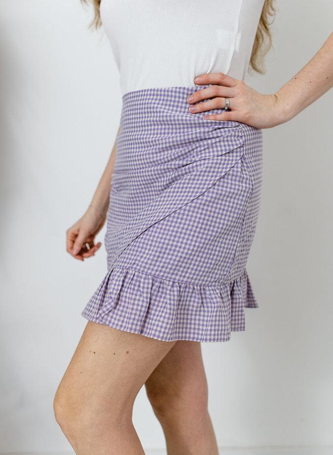 Vichy Skirt lila